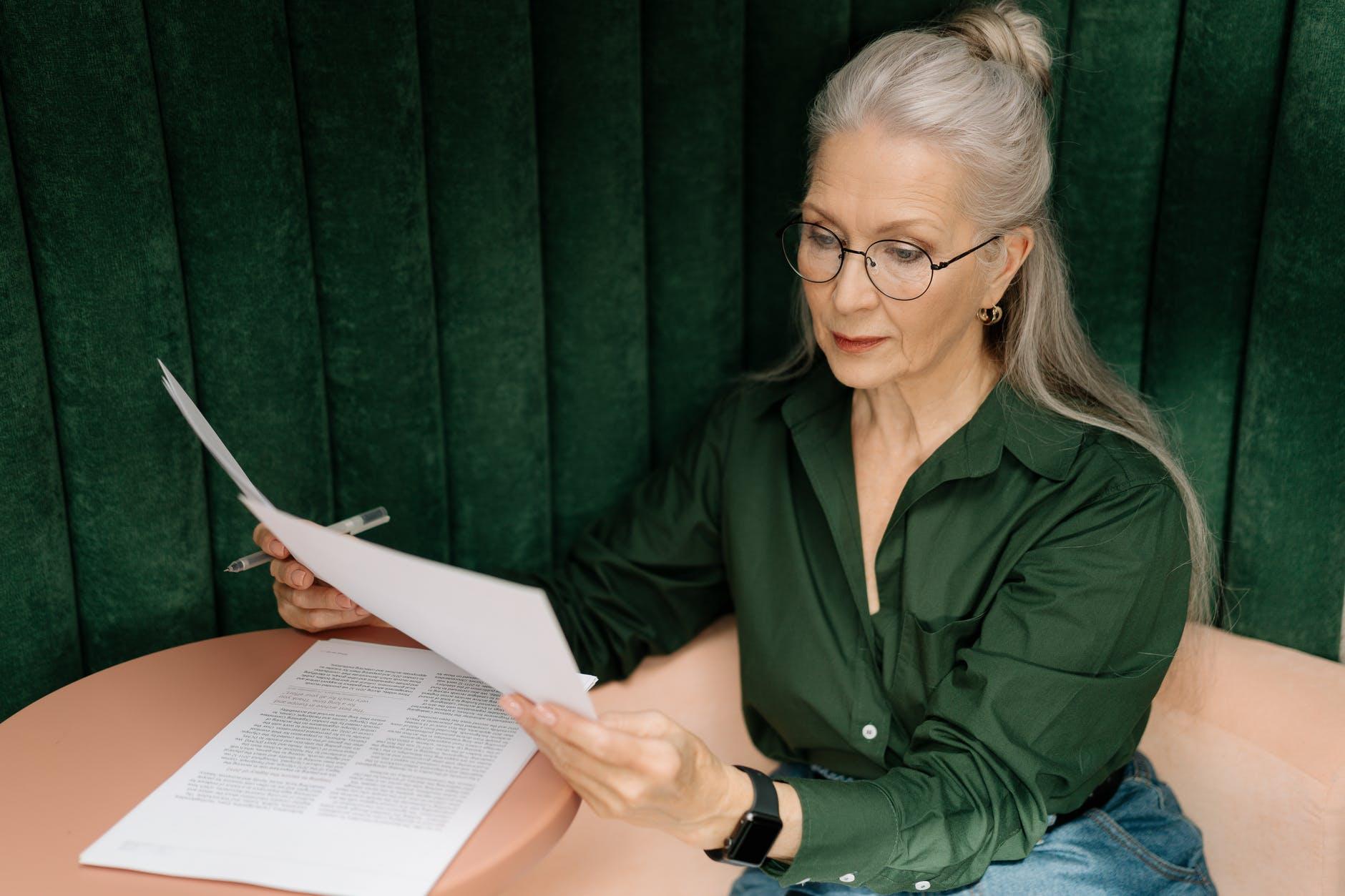 Senior Downsizing Documents
